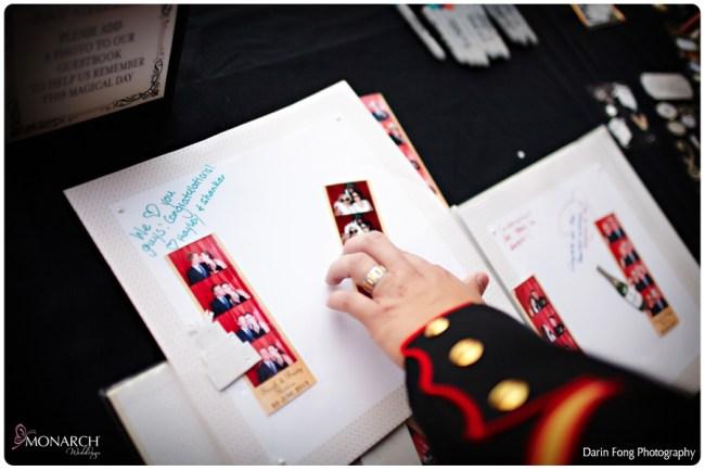 Blush-black-white-wedding-at-La-Valencia-Photo-booth-guest-book