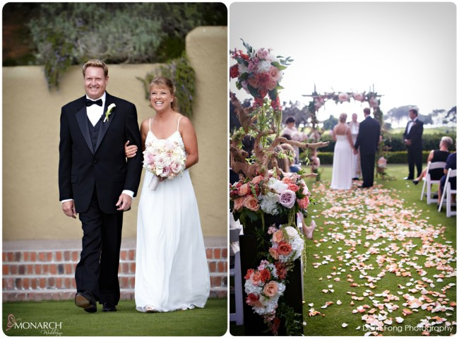 Lodge-at-Torrey-pines-wedding-arroyo-terrace-ceremony-bride-and-groom