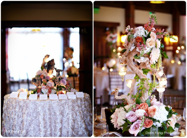 Lodge-at-Torrey-pines-wedding-champagne-rosette-place-card-table