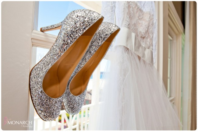 vintage-wedding-dress-sparkle-bridal-shoes