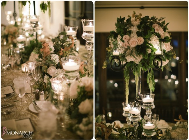 Rustic-garden-chic-wedding-floral-birch-wood-candlelight