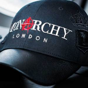 Monarchy London, Luxury Leather Goods for Stylish Gentlemen. Men's luxury black leather cap.
