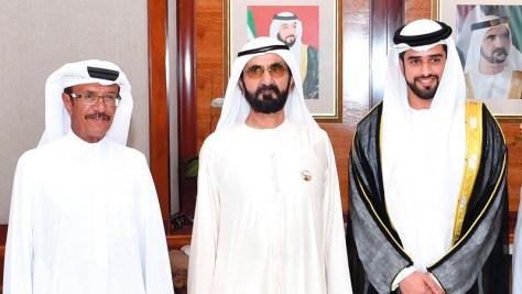 محمد بن راشد يحضر أفراح المهيري والمري