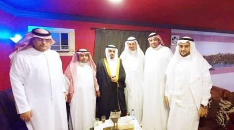 جوهرجي وبخش يحتفلان بعقد قران عبدالعزيز