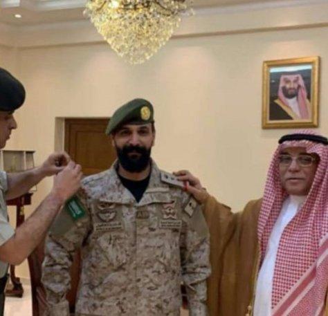 """""""الشهراني"""" إلى رتبة عقيد بالقوات المسلحة"""
