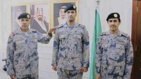 """""""أبو ساق"""" عقيدًا بحرس الحدود"""