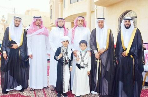 زلفان يحتفل بزواج عبدالعزيز وخالد