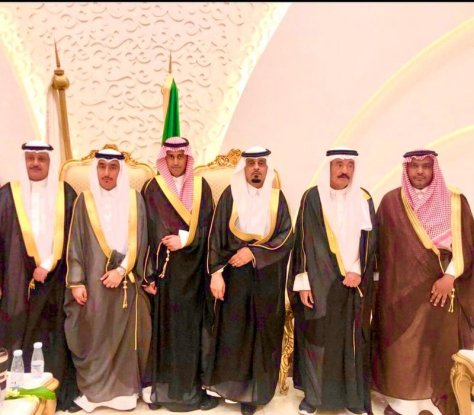 """""""الهزاع"""" يحتفل بزواج نجله عبدالعزيز"""