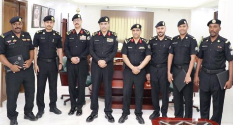 مدير الأمن العام يكرم رجال الدوريات