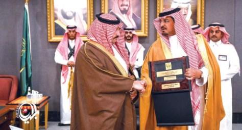 آل حامد يكرمون ابنهم عبدالرحمن