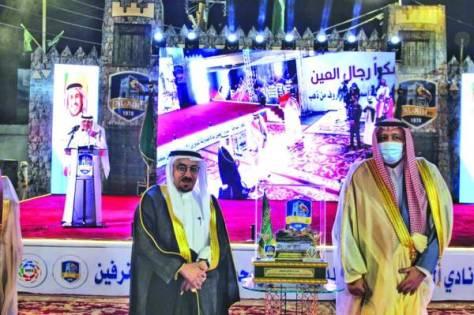 أمير الباحة يكرم سعيد بن رداد