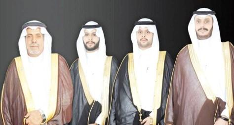 الذويبي يحتفل بزواج حسام وعبدالرحمن