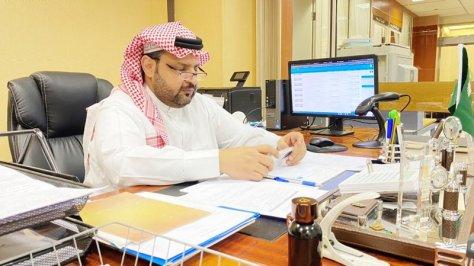 """""""العمري"""" رئيسًا لوحدة خدمات المستفيدين بمكتبة الملك سلمان المركزية بجامعة سعود"""