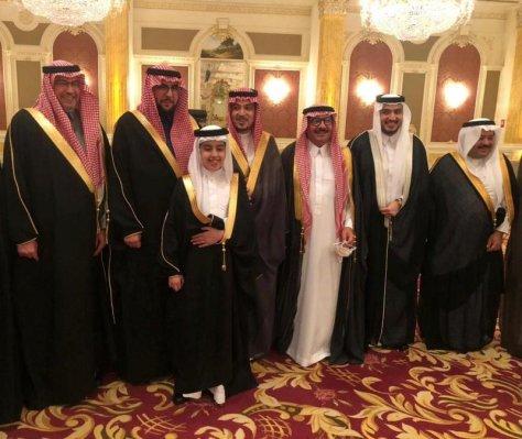 """عائلة """"البنيان"""" تحتفل بعقد قران ابنتهم من """"بدر السديري"""""""