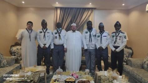 «كشافة مكة» يطمئنون على الوزان