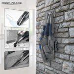 Profi-Care PC-AKS 3034, PROFICARE 3034-Aspirateur à Main Eau et poussière-avec Accessoires, Gris et Bleu