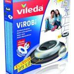Vileda Virobi Slim Robot aspirateur Virobi Slim, couleur : argenté argenté