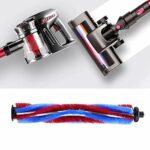 Dessus d'aspirateur, accessoires de tête de brosse ABS haute résistance de nettoyage en profondeur pour aspirateur sans fil
