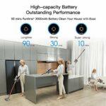 Dreame V11 – Aspirateur sans fil avec batterie et écran OLED, avec 25000 Pa, force d'aspiration puissante, durée de 3000 mAh jusqu'à 90 minutes, faible bruit