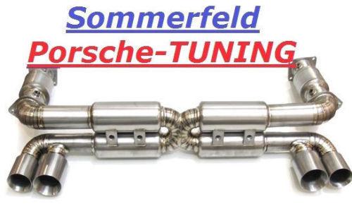 porsche 996 turbo titan 200 cell kat