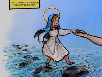 Maria fedele discepola del Figlio da Nazareth a Gerusalemme