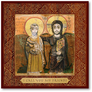 Icons Of Christ Christ The True Friend Icon Monastery Icons
