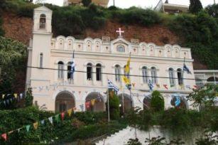 Αποτέλεσμα εικόνας για Παναγίας Τρυπητής στο Αίγιο Αχαΐας