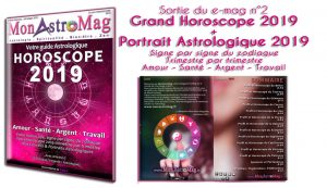 Sortie du Grand Horoscope 2019 & Guide astrologique