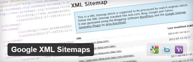 google xml sitemaps wordpress