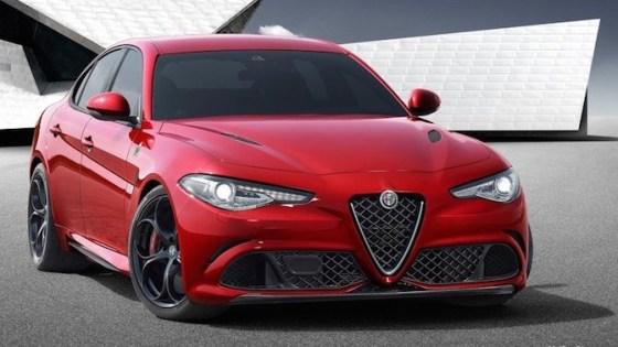 Alfa Romeo Giulia official