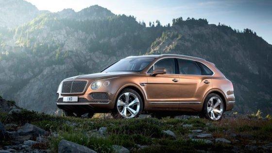 Bentley Bentayga 2016 officiel