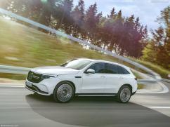 Mercedes EQC 2019 profile