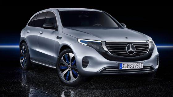 Mercedes EQC 2019 calandre