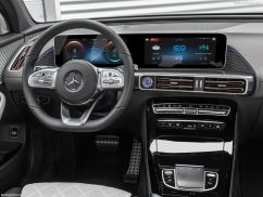 Mercedes EQC 2019 tableau de bord