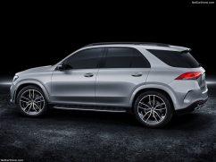 Mercedes GLE 2019 studio de profile