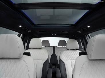BMW X7 2019 vu intérieur