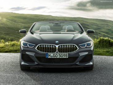 BMW Série 8 Cabriolet 2019 calandre