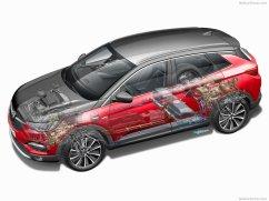 Schéma Opel Grandland X Hybrid4