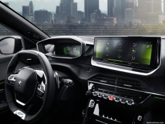 Peugeot 2008 2020 console centrale