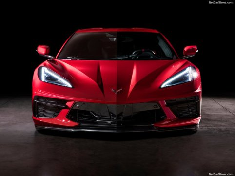 Chevrolet Corvette 2020 face avant