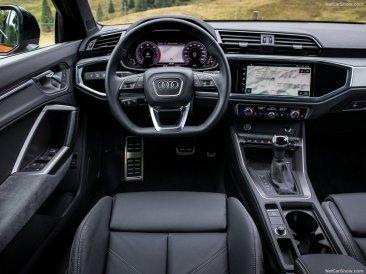 au volant de l' Audi Q3 Sportback 2020