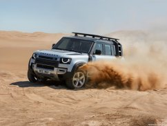 Galerie Land Rover Defender 2020 version 110 3/4 avant