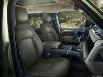 Galerie Land Rover Defender 2020 version 110 places avant