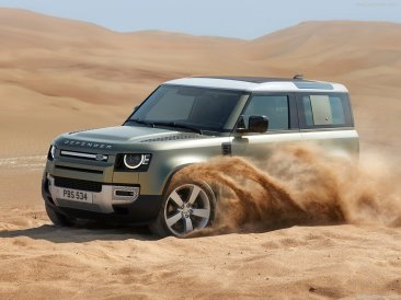 Galerie Land Rover Defender 2020 version 90 desert
