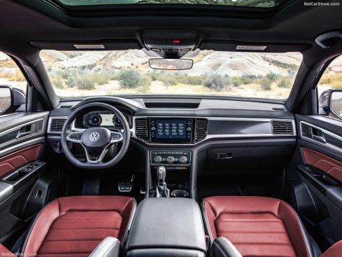 Volkswagen Atlas Cross Sport 2020 tableau de bord