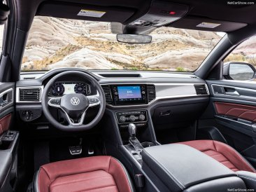 Volkswagen Atlas Cross Sport 2020 console centrale