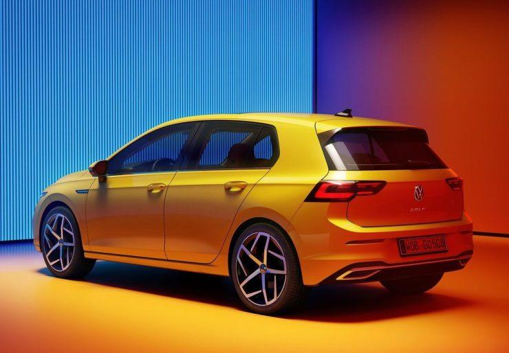 Volkswagen Golf 2020 feux arrière