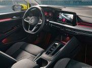 Volkswagen Golf 2020 console centrale