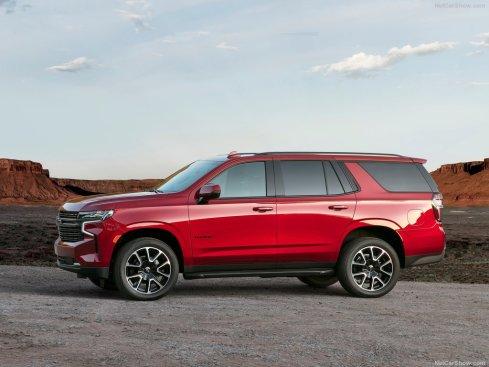 Chevrolet Tahoe 2021 profil
