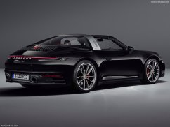Porsche 911 Targa 2021 bandeau lumineux